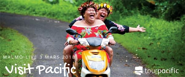Visit Pacific och 25-års jubileum i pipeline för Tour Pacific 2018