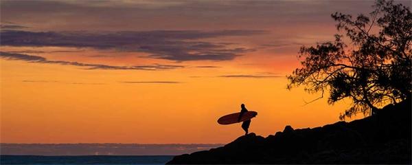 Solsäkert och skön livsstil vid Australia's Nature Coast
