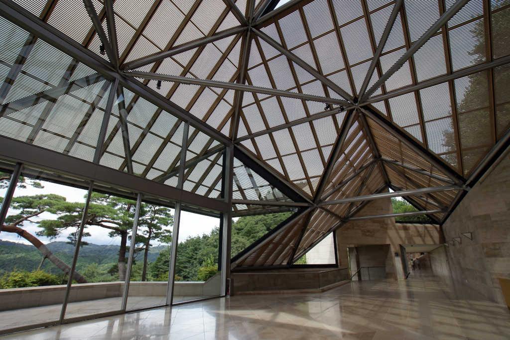 Fantastiska Miho Museum i Japan