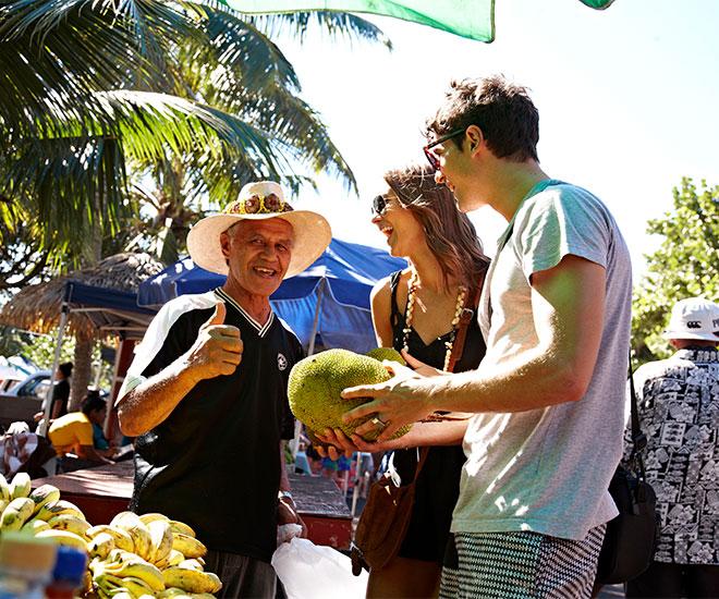 Marknad i Rarotonga