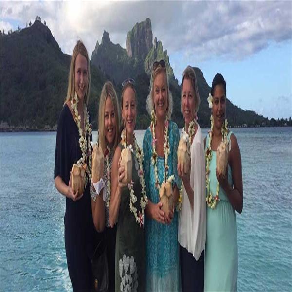Helenas 5 höjdare på Tahiti!