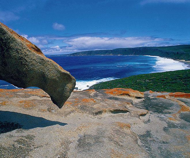 Rundresa Australien Nyz Zeeland, Remarkable Rocks på Kangaroo Island