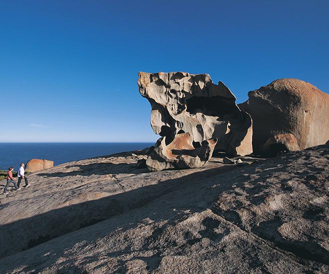 Australien, Remarkable Rock på Kangaroo Island