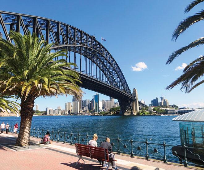 Rundresa Australien, Sydney Harbour Bridge