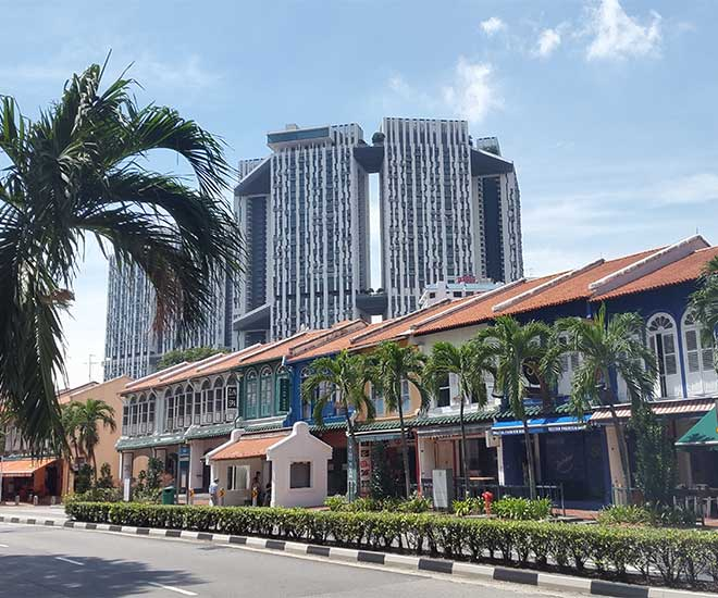 Stopover i kosmopolitiska Singapore.