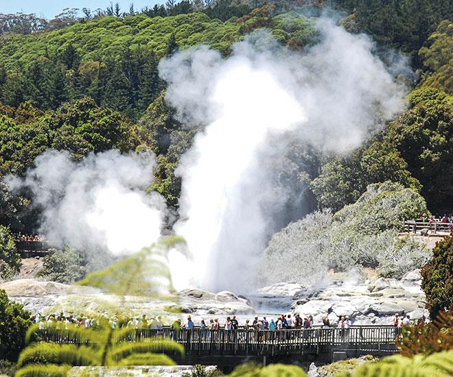 Nya Zeeland Rotorua på Nordön