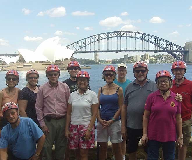 Rundresa Klassiska Australien & Nya Zeeland på cykeltur i Sydney