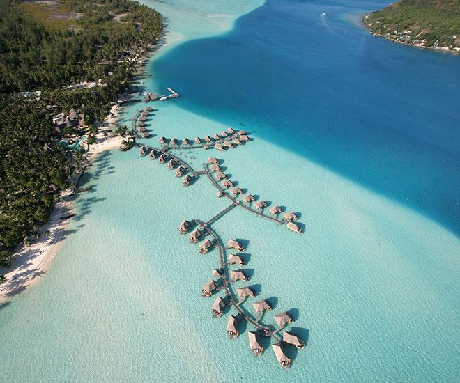 Underbara Bora Bora på Tahiti och vårt hotell på rundresan Bora Bora Pearl Resort & Spa.